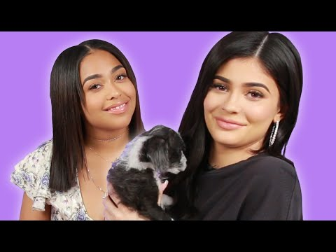 Thumbnail: Kylie Jenner And Jordyn Woods Play With Puppies