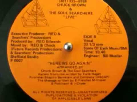 Here We Go Again - Chuck Brown & the SoulSearchers