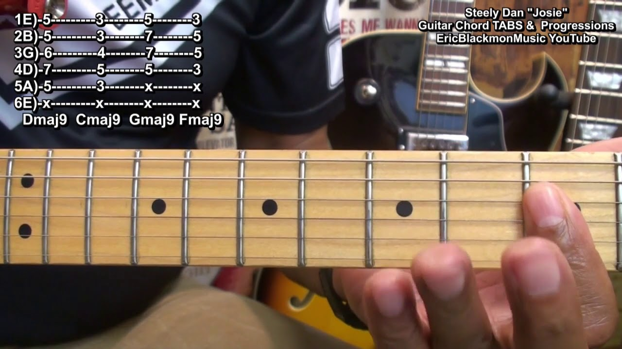 How To Play Josie Steely Dan Chord Tabs Chord Progressions On