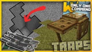 Minecraft - Deadly TRAPS With Only One Command Block!
