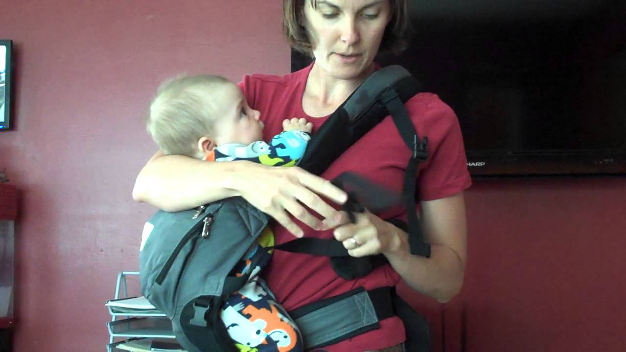 Ergobaby Performance Carrier Hip Carry Both Ways