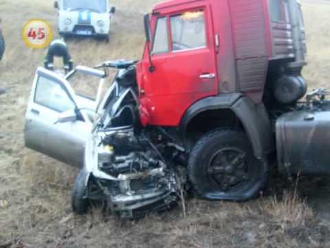 Авария на трассе М-51 «Курган-Тюмень»