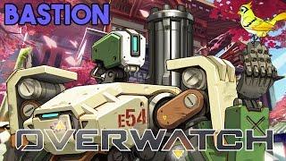 Overwatch Bastion Gameplay Deutsch German - KeysJore wird gekickt!