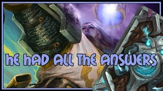 He had ALL the answers   Even paladin   The Witchwood   Hearthstone