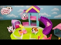 NEW Chubby Puppies Pole Course Playset & Ultimate Dog Park + Dalmatian Puppy Dog