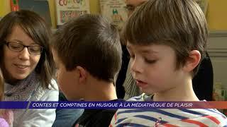 Yvelines | Contes et Comptines en musique à la médiathèque de Plaisir