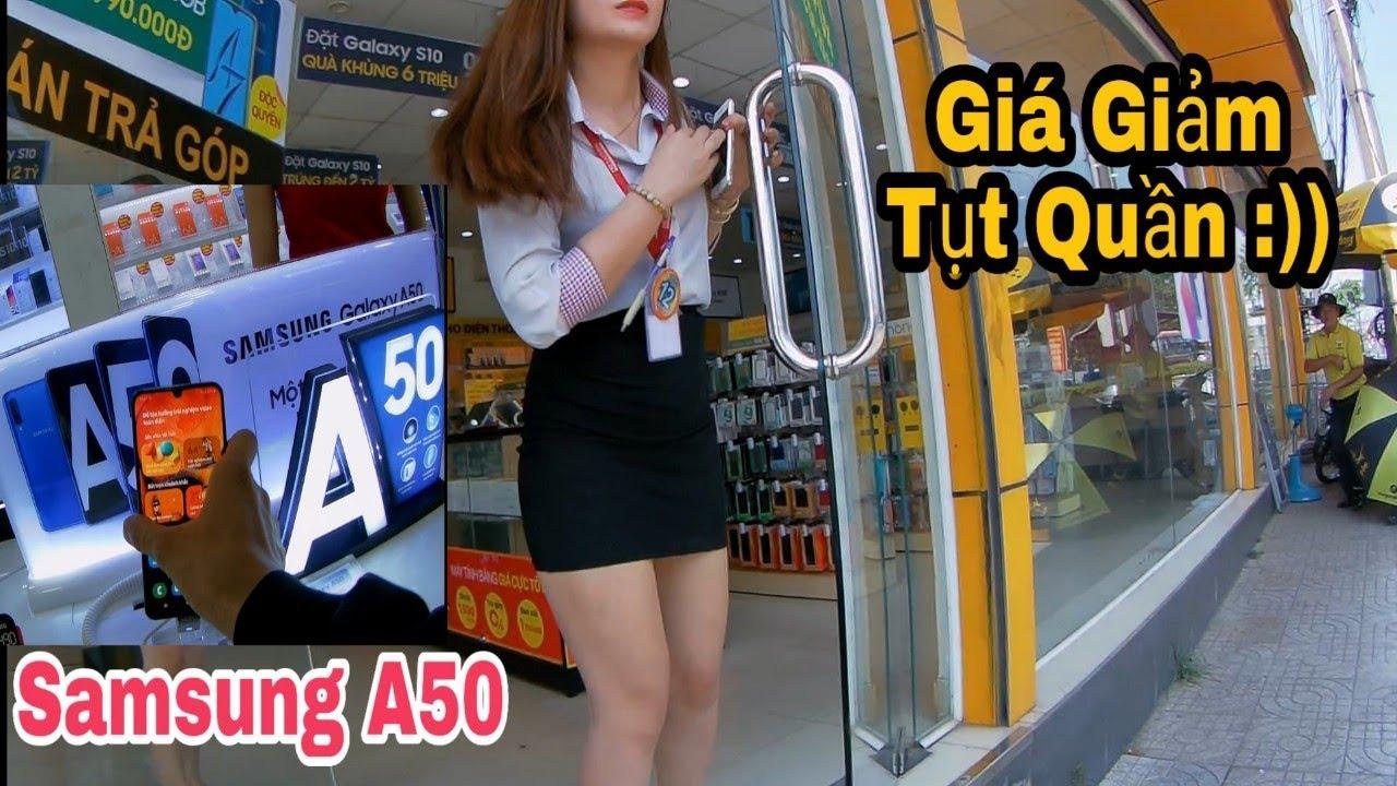Samsung A50 hỏi giá trực tiếp cửa hàng điện thoại di động Siêu Rẻ