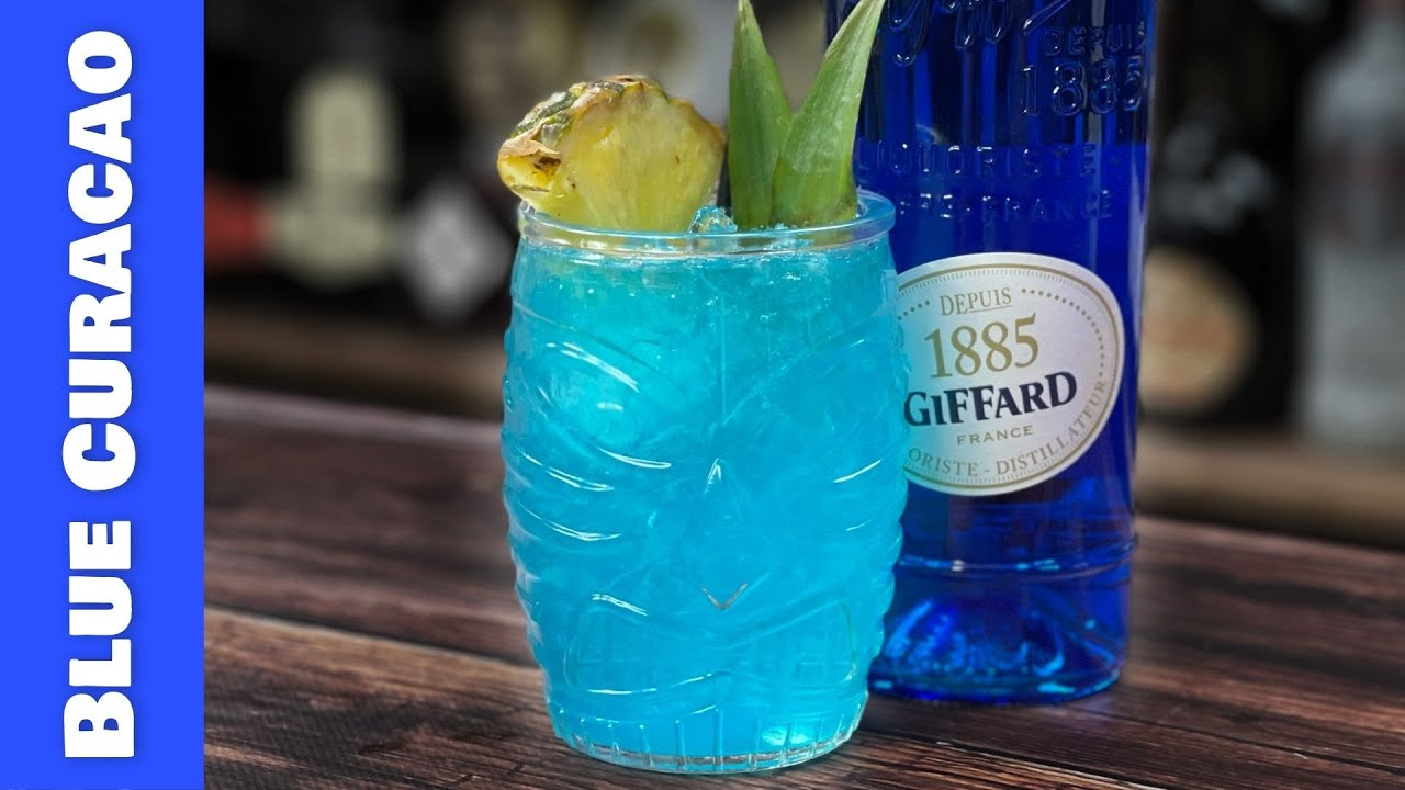 Blue Curacao Cocktails - With PEACH & APRICOT!
