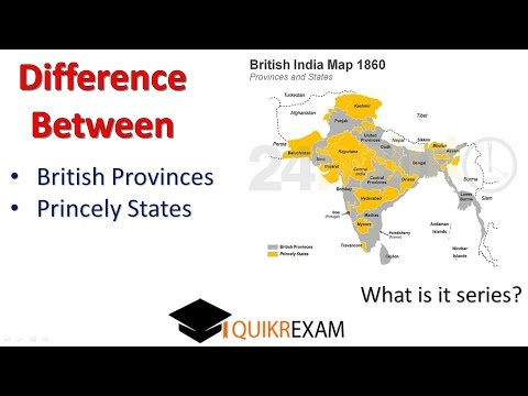 What is the Difference Between Province and states in British India
