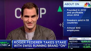 CNBC | Squawk on the Street feat. Roger Federer x On