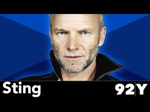 Sting with Anthony DeCurtis