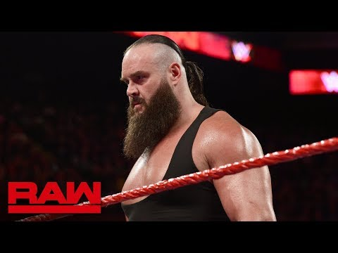 Braun Strowman demands an invitation to the Men's Money in the Bank Ladder Match: Raw, May 7, 2018