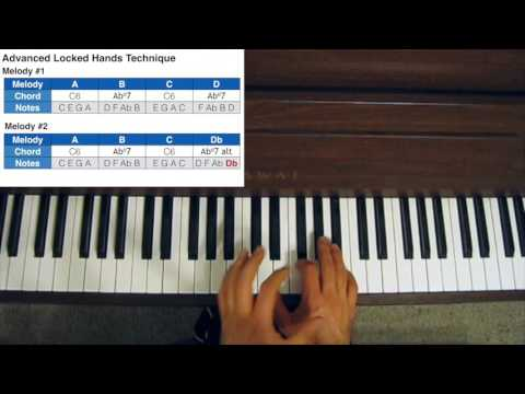 Piano piano chords techniques : Jazz Piano Chord Voicings - Advanced Locked Hands Technique - YouTube