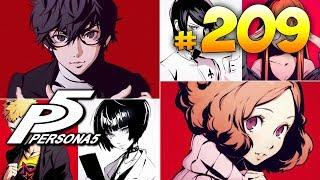 Persona 5 ► запись стрима #209 (9.08.2019)