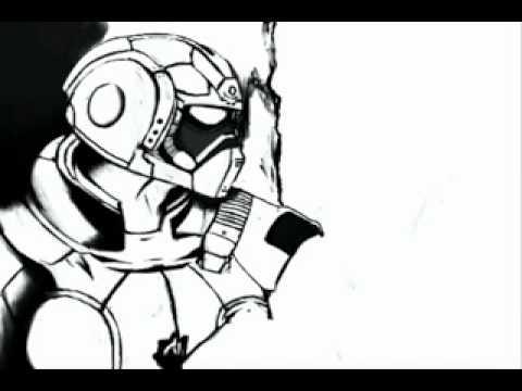 gears of war 2 carmine drawing youtube
