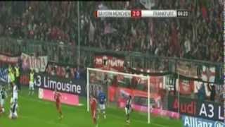 اهداف مباراة بايرن ميونيخ و آينتراخت 5-0 [2014/02/2] الدوري الألماني [تعليق أحمد العبيدلي] HD