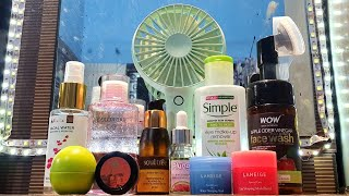 SKINCARE routine after removing makeup RARA