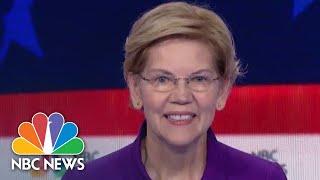 Elizabeth Warren And Amy Klobuchar Weigh In On Economy, Student Loans | NBC News