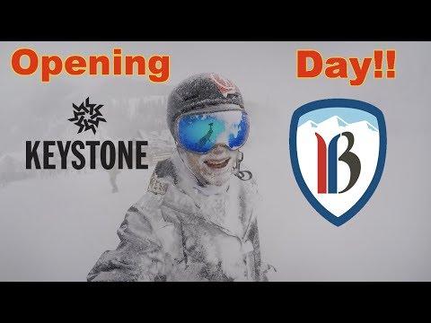 Keystone and Breckenridge Open Today!! - (Season 3, Day 16) #snowboarding #Openingday #Colorado