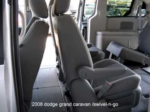 2008 Dodge Grand Caravan Sxt Swivel N Go Youtube