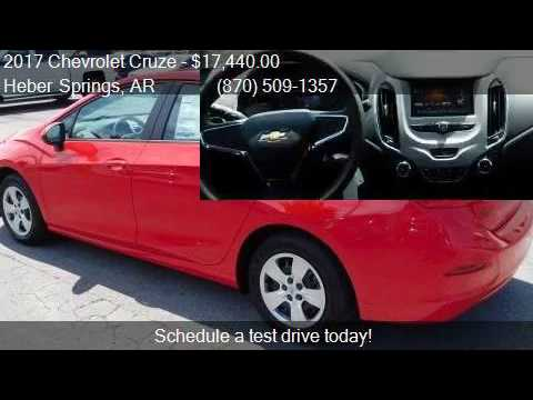 2017 chevrolet cruze ls auto 4dr sedan for sale in heber spr youtube youtube