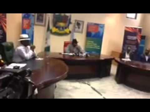 Governor Dickson of Bayelsa State on Economic Forum2014