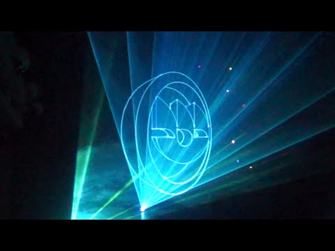 Omsk Carbon Group. Laser show for the Chemist's Day 2015
