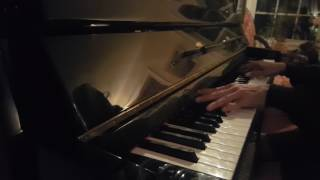 Don't Fall in Love with a Dreamer Kenny Rogers and Kim Carnes piano cover