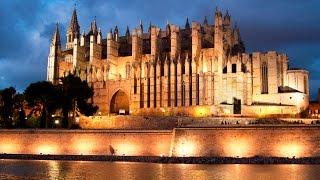 Пальма де Майорка весной - Catedral de Mallorca(Посетили одну из главных достопримечательностей на Пальма де Майорка - Catedral de Mallorca., 2016-03-24T10:05:41.000Z)