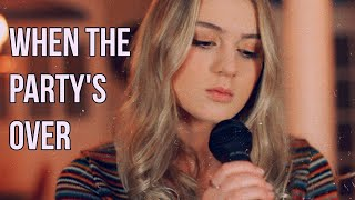 When the Party&#39s Over- Billie Eilish (Cover by Sarah Cothran)