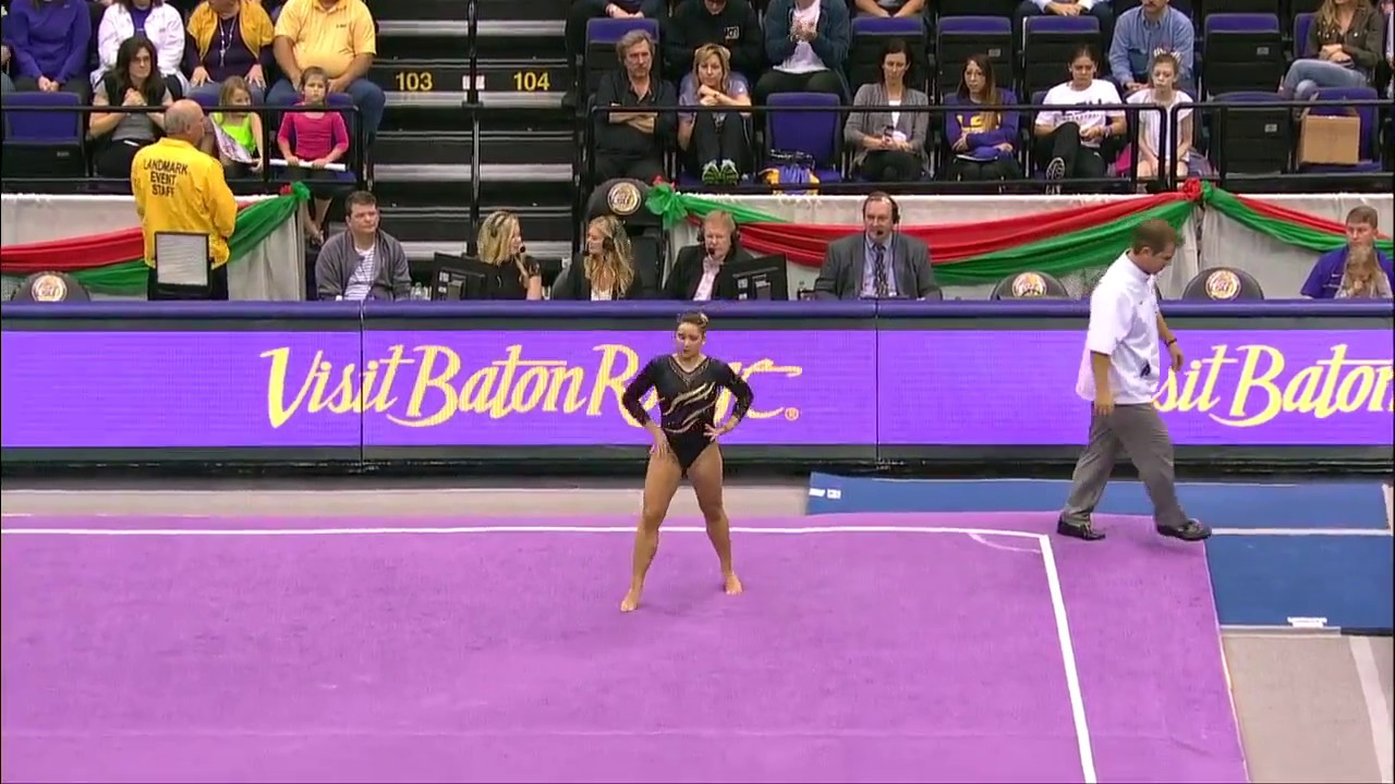 Floor Routine LSU Gymnastics