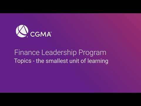 CGMA Finance Leadership