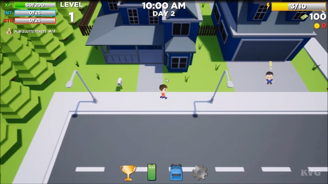 Super Life (RPG) Gameplay (PC HD) [1080p60FPS] - YouTube