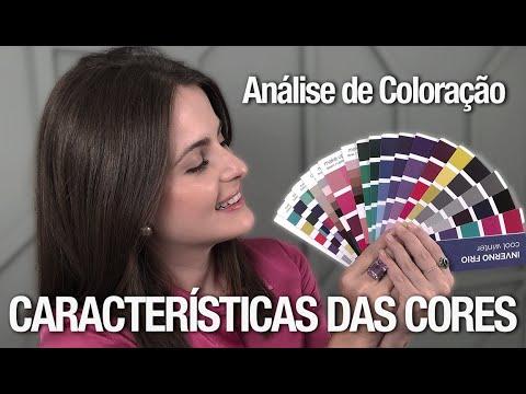 Análise de Coloração: compreendendo a CARTELA de CORES