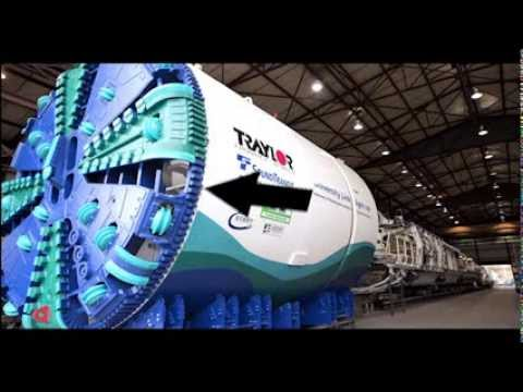 Sound Transit - How a light rail tunnel is built