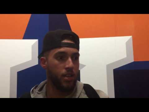 George Springer talks about his walk-off bomb