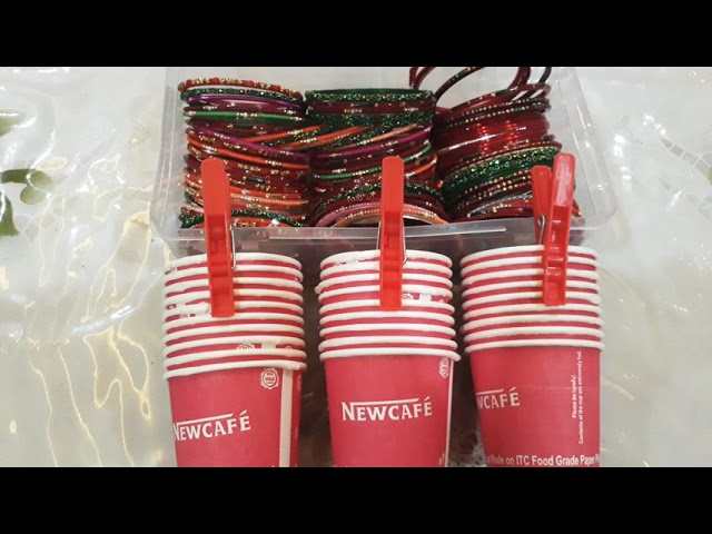 Bengals and cup🥃karwa chauth kitty party game ❤😘