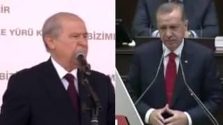 Erdoğan - Bahçeli Kapışması