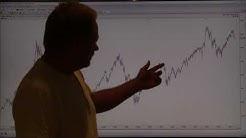 OMX 25 aug Långa stigande trenden hotad.