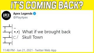 Apex Legends Teases Skull Town Return! #Shorts