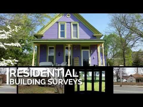 Building surveys completed in Bloomington, Indiana