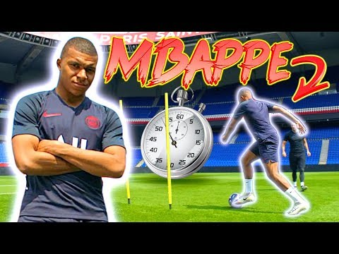 HOW FAST IS MBAPPE?! 💨👀 PSG SPEED TEST! MBAPPE VS CAVANI VS DI MARIA & More! FIFA20 RATINGS 🎮⚽️🔥