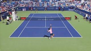Tennis Elbow 2017 Federer vs Zverev Cincinnati HD 60 FPS