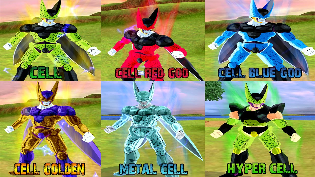 cell pack cell forms vs goku ssjblue download dragon ball z
