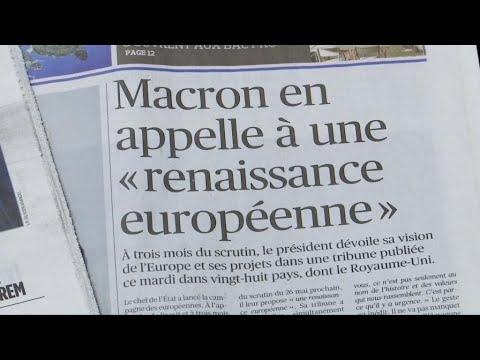 L'Europe rêvée d'Emmanuel Macron (Partie 1)