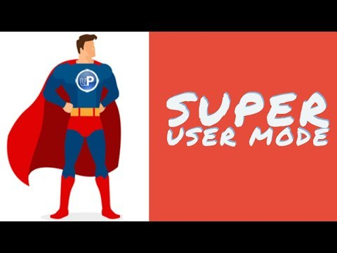 SuperUser Mode In Odoo13