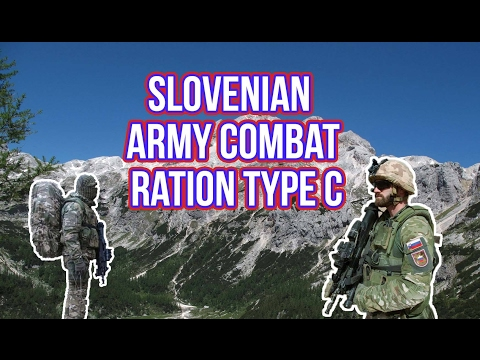 Slovenian Army Combat Ration Type C