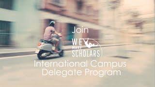 International Campus Delegate Program: by WMS