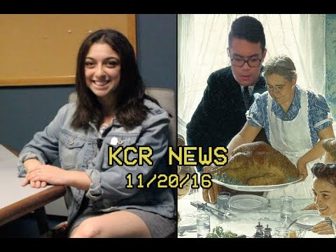 KCR College Radio News - 11/20/16