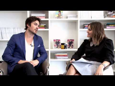 Ian Somerhalder na Glamour Brasil